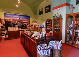 The premises of the museum shop | Charles Bridge Museum