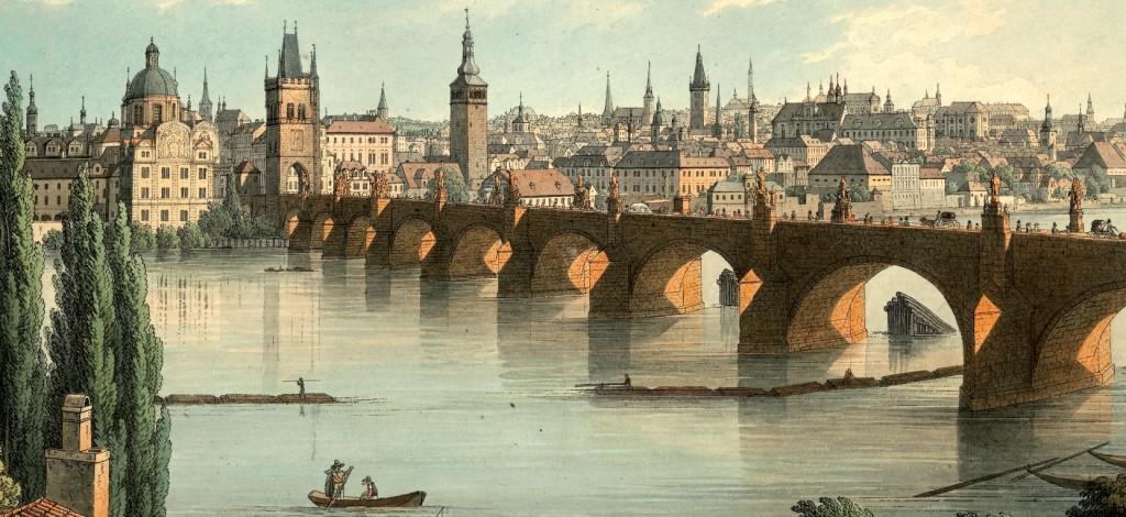 Zeitgenössische Kunstwerk von Charles-Brücke | Karlsbrücke Museum